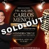 Carlos Mencia - Aug 3rd - at Winners Circle Lakeland, FL