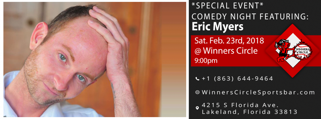 Comedy Night with Eric Myers - Lakeland Winners Circle