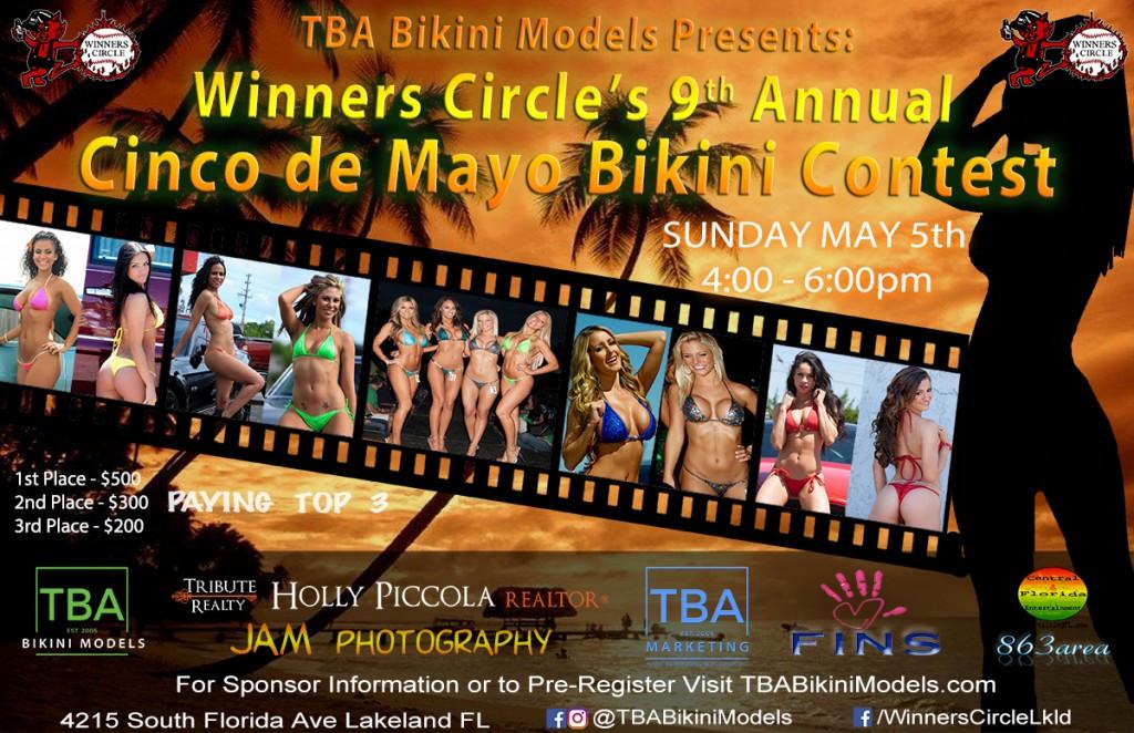 Winners Circle Cinco de Mayo Bikini Contest 2019 - TBA Bikini Models