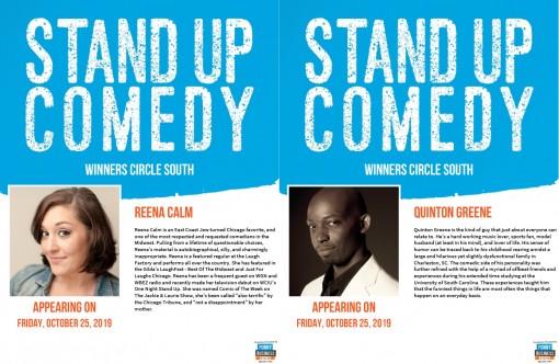 Winners Circle Lakeland - Comedy Reena Calm & Quinton Greene