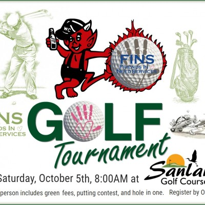 Sat. Oct. 5th, 2019 - Fins Charity Golf Tournament