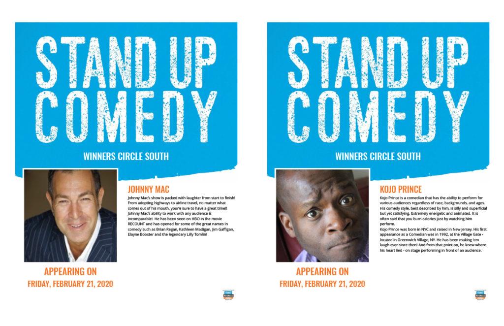 Comedy with johnny mac & kojo prince