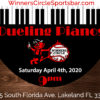 Dueling Pianos - Lakeland Winners Circle - Apr 4th, 2020