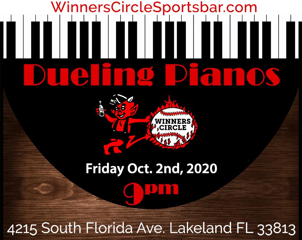Winners Circle Dueling Piano's - Oct 2nd