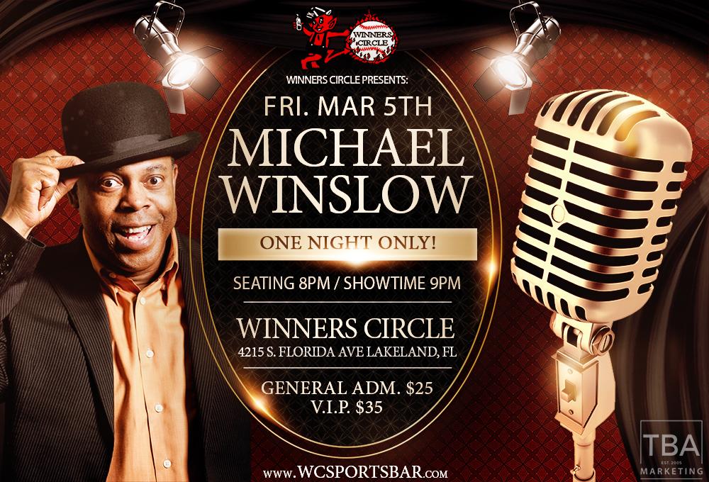 Michael Winslow Live at Winners Circle