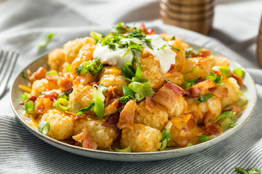 Somemade Loaded Taters Tots