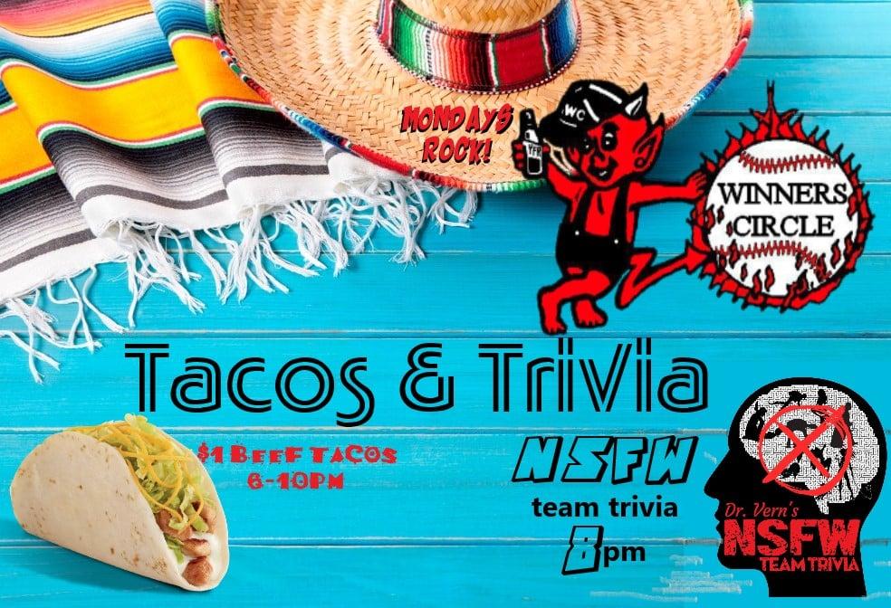 WC Monday Tacos NSFW Triva